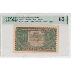 5 mkp 1919 - II Serja DZ (Mił.24b)