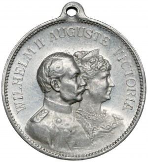 Medalik, Dni cesarskie w Poznaniu   KAISERTAGE POSEN... 1902