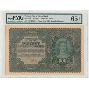 500 mkp 1919 - I Serja BF