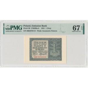1 złoty 1941 - BB