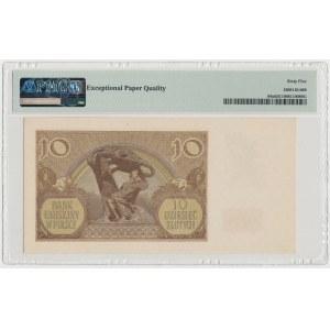 10 złotych 1940 - Ser.L. - fałszerstwo londyńskie (?)
