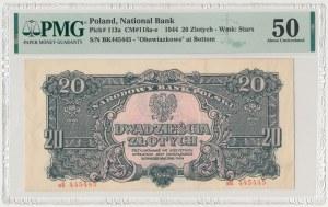 20 złotych 1944 ...owe - вK