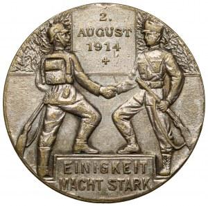 Prusy Wschodnie, Medal 1914 - Einigkeit Macht Stark