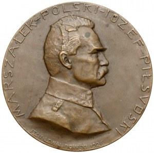Józef Piłsudski - Medal autorstwa St. Lewandowskiego 1926 - rzadkość