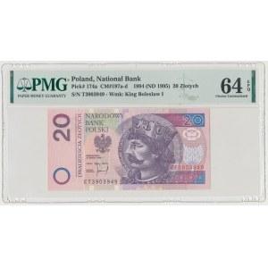 20 złotych 1994 - ET