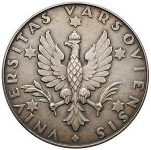 Medal, 150 rocznica powstania Wydziała Prawa Uniwersytetu Warszawskiego, 1958