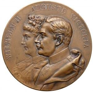 Medal, Dni cesarskie w Poznaniu   KAISERTAGE POSEN IM SEPTEMBER 1902