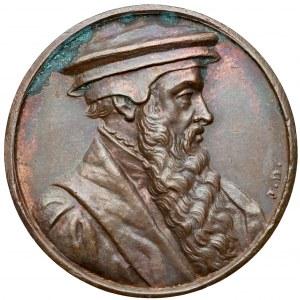 Jan Łaski - medal z genewskiej suity Reformatorów