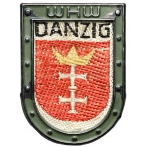 Gdańsk, Znaczek Pomocy Zimowej (Winterhilfswerk) DANZIG WHW