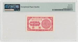 Chiny, 1 Fen = 1 Cent 1939