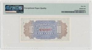China, 1 Chiao = 10 Cents (1924)