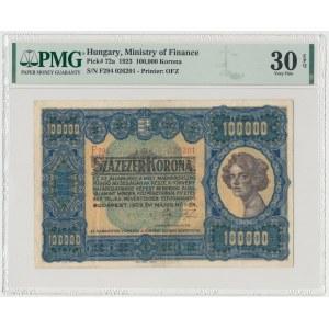 Węgry, 100.000 Korona 1923