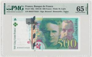 Francja, 500 Francs 1995 - Skłodowska