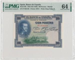 Spain, 100 Pesetas 1925