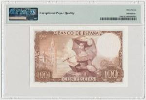 Hiszpania, 100 Pesetas 1965