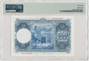 Hiszpania, 500 Pesetas 1954