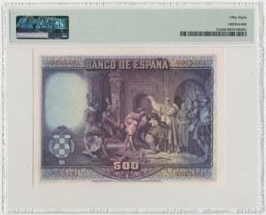 Hiszpania, 500 Pesetas 1928