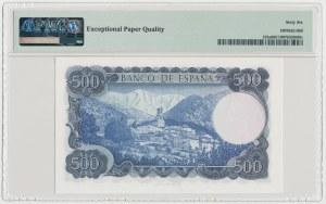 Hiszpania, 500 Pesetas 1971