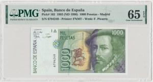 Spain, 1.000 Pesetas 1992