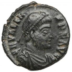 Walens (364-378 n.e.) Follis, Kyzikos