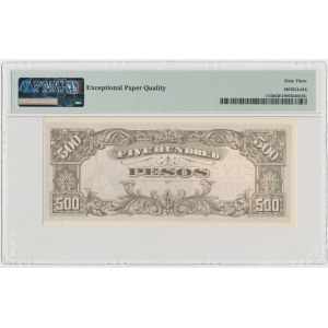 Philippines, Japanese Occupation WWII, 500 Pesos (1944)