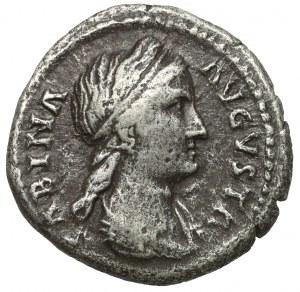 Sabina (117-136 n.e.) Denar, Rzym - żona Hadriana