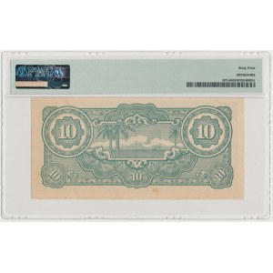 Malaya, Japanese Occupation WWII, 10 Dollars (1942-44)