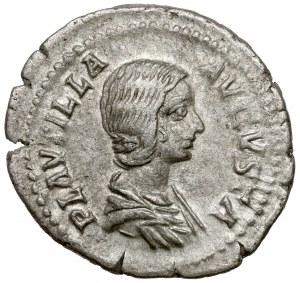 Plautilla - żona Karakalli (202-205 n.e.) Denar, Rzym