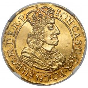 Jan II Kazimierz, Dukat Gdańsk 1658 DL - MENNICZY