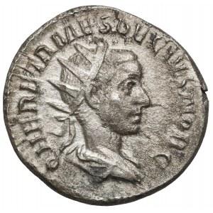 Hereniusz Etruskus (251 n.e.) Denar, Rzym