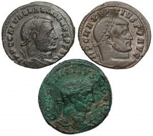 Cesarstwo Rzymskie - Zestaw follisów (3szt)