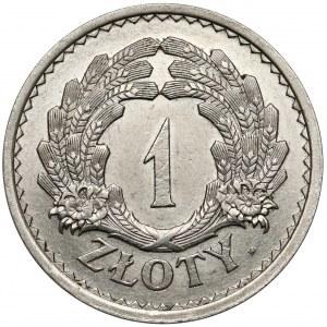 PRÓBA 1 złoty 1928 - bez napisu PRÓBA, wieniec z kłosów (nakład 15 sztuk)