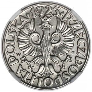 50 groszy 1923, Le Locle - wyśmienite