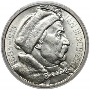 Sobieski 10 złotych 1933 - PIĘKNY