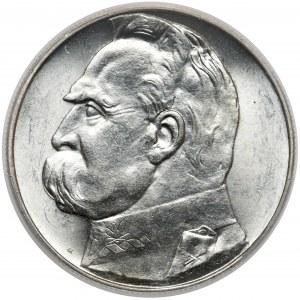 Piłsudski 10 złotych 1938 - mennicze