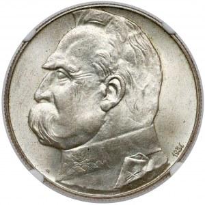 Strzelecki, Piłsudski 10 złotych 1934 - PIĘKNY