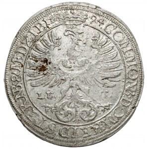 Śląsk, Sylwiusz Fryderyk, 15 krajcarów 1694