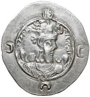 Sasanidzi, Chosrow (Chosroes / Khusro) I (531–579), drachma