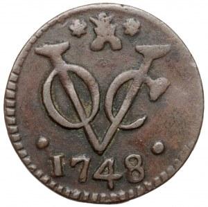 Indonezja (Netherlands East Indies) Duit 1748