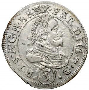 Austria, Ferdynand II, 3 krajcary 1628 - Graz