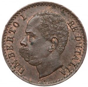 Włochy, Umberto I, Centesimo 1895 R