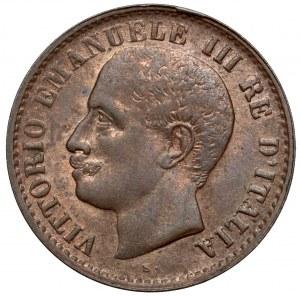 Włochy, Emanuel III, Centesimo 1904 R