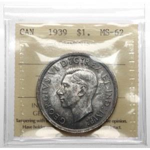 Kanada, Jerzy VI, Dolar 1939