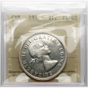 Kanada, Elżbieta II, Dolar 1959