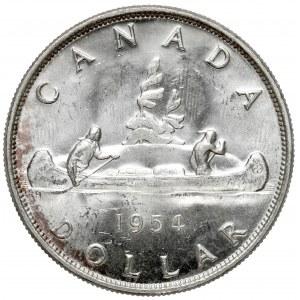 Kanada, Elżbieta II, Dolar 1954