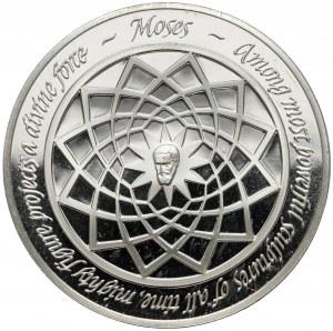 USA, Medal, The Genius of Michelangelo - Franklin Mint, Mojżesz