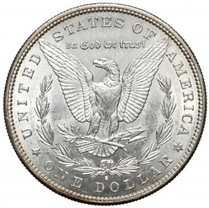 USA, Dolar 1889-S, San Francisco - Morgan Dollar