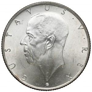 Szwecja, Gustaw V, 2 korony 1938 - 300-lecie osadnictwa w Delaware
