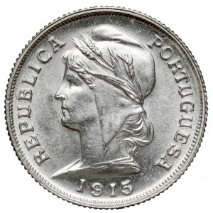 Portugalia, 10 centavos 1915