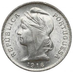 Portugalia, 50 centavos 1916